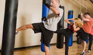 Up to 64% Off Fitness Kickboxing Classes at Karate America at Karate America, plus 6.0% Cash Back from Ebates.