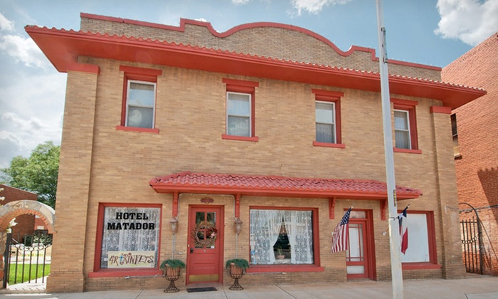 Hotel Matador Bed and Breakfast - Matador: Two-Night Stay for Two at Hotel Matador Bed and Breakfast in Matador, TX
