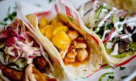 Mexican Dinner for Two or Four or $12 for $20 Worth of Takeout at Camino Taco and Tequila Bar