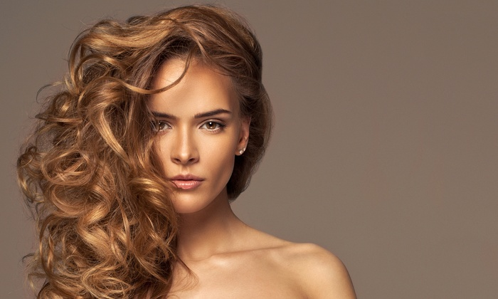 Saints-n-scissors - Biscayne Park: Color, Highlights and Blow-Dry from Saints N Scissors (50% Off)