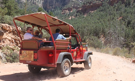 Two-Hour Old Bear Wallow Jeep Tour for Two, Four, or Six from Red Rock Western Jeep Tours (Up to 45% Off)