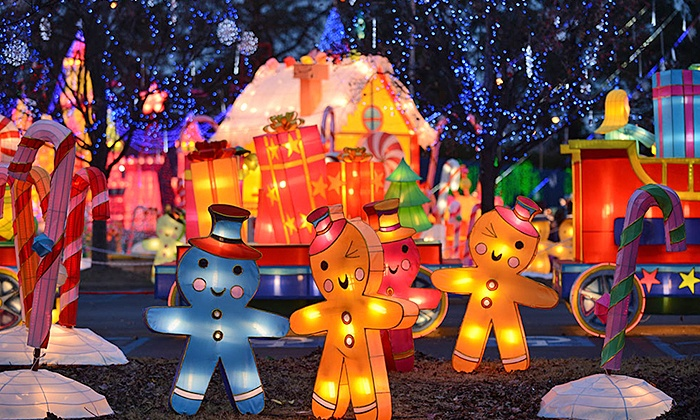 Global Winter Wonderland - Sacramento: Holiday Theme-Park Visit at Global Winter Wonderland (Up to 46% Off). Five Options Available.