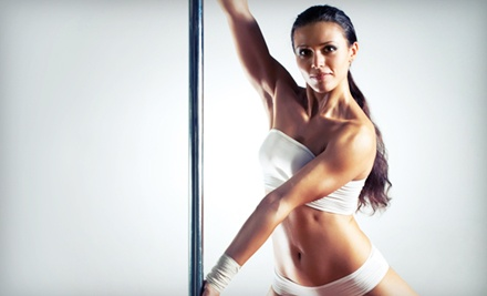 Pole-, Chair-, or Burlesque-Dancing Course with Drop-In Bellyfit Class at Vivacity Fitness (Up to 56% Off)