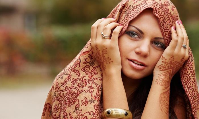 STL Henna LLC - Chicago: 60-Minute Henna Art Session from STL Henna LLC (29% Off)