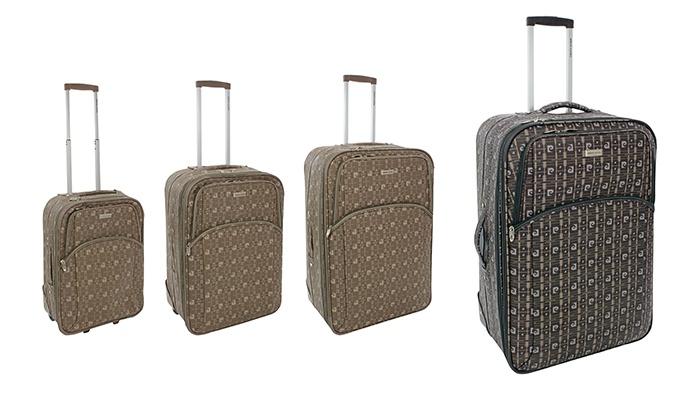 heiß-verkaufender Beamter für die ganze Familie Heiß-Verkauf am neuesten Pierre Cardin Koffer | Groupon Goods