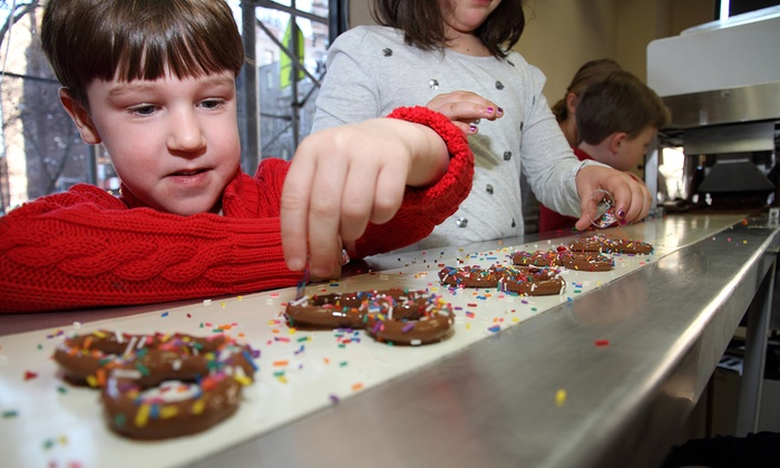 Chocolate Works - Brooklyn Heights: Kids' Chocolate Workshop for One or Two at Chocolate Works (Up to 52% Off)