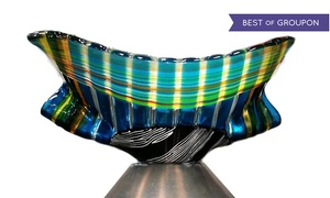 Art in the Pod: BYOB Glass-Fusion Class for One or Two at Art in the Pod (Up to 51% Off)