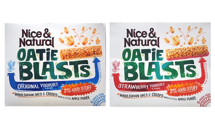 60 Bars Nice & Natural Oatie Blasts