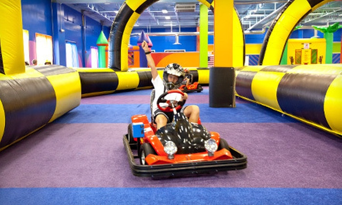 Party Fantasy - Multiple Locations: Indoor Amusement Center Pass for Two, Four, or Six to Party Fantasy in Mundelein (Up to 57% Off)