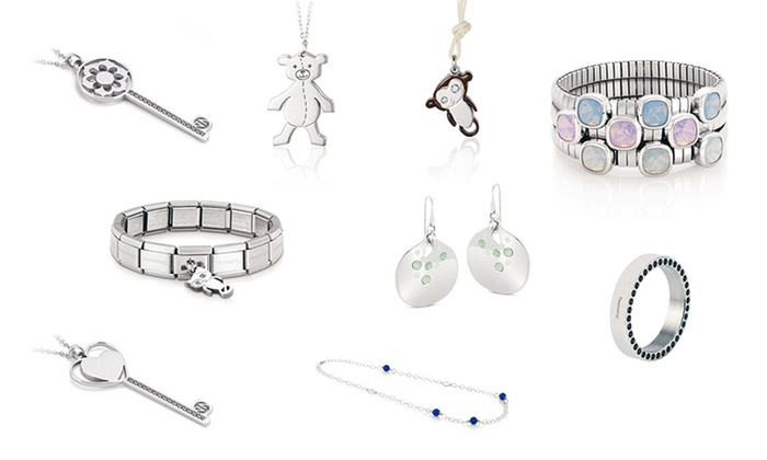 rivenditore online d2ede ee7cd Gioielli Nomination | Groupon Goods