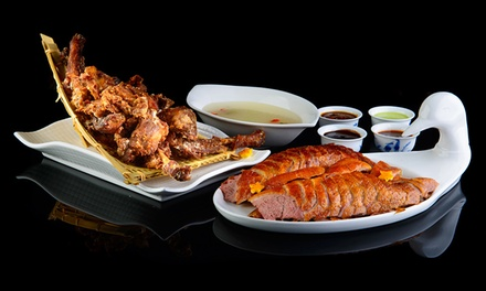 Peking Duck Banquet with Wine for Two ($79), Four ($158) or Six People ($235) at Asian Flavour House Glenelg