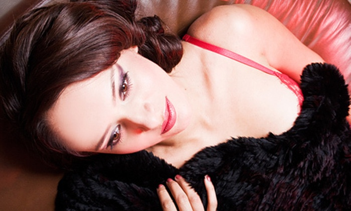 Cristen Geller Photography - Los Angeles: 60-Minute Boudoir Photo Shoot with Image CD and Optional Hair and Makeup at Cristen Geller Photography (Up to 79% Off)