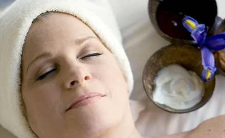 Custom Massage and Express Facial for One or Two at The Indigo Spa at Hilton Head Health (Up to 33% Off)