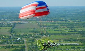Future Flight, LLC: $99 for a Powered-Parachute Ride Over Lake Lavon from Future Flight, LLC ($199 Value)