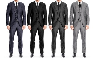 Braveman 3-Pc. Modern-Fit Mens Suits