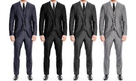 Braveman 3-Pc. Modern-Fit Mens Suits