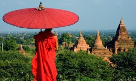 Mjanma: 12 lub 17 nocy ze zwiedzaniem miast i wiÄ™cej