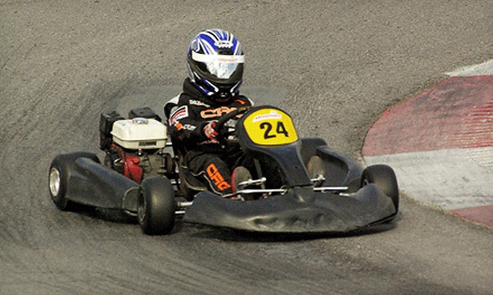 Mosport International Karting - Bowmanville: $69 for a Professional High-Speed Go-Karting Experience with Membership to Mosport International Karting ($154.99 Value)
