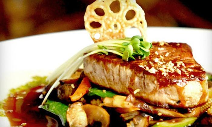 Sakura Garden Japanese Steak House - North New Haven: Japanese Cuisine at Sakura Garden Japanese Steak House in Hamden (Half Off). Three Options Available.