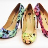 Up to 69% Off MA by Michael Antonio Floral or Glitter Pumps