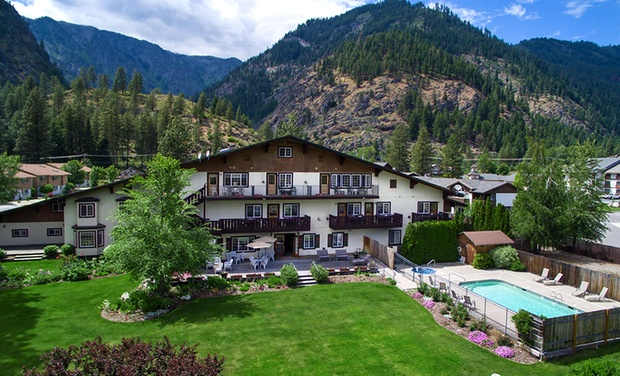 TripAlertz wants you to check out 1- or 2-Night Stay for Two at Alpen Rose Inn in Leavenworth, WA Romantic Bavarian-Style Inn in Washington - Bavarian-Style Inn in Washington