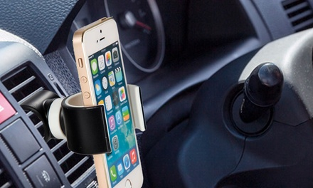 One or Two 360° Air Vent Mount Bike/Car Phone Holders