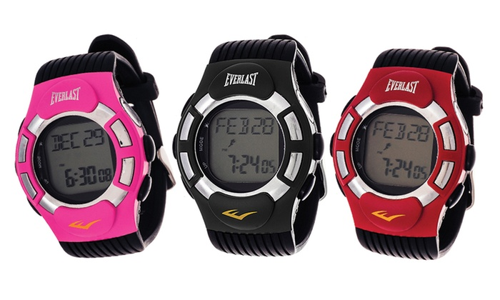 Everlast HR1 Finger Touch Heart-Rate Monitor Watch