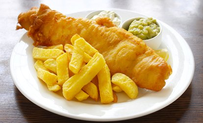 image for Fish and Chips With Drink for Two or Four at The Almighty Cod (Up to 38% Off)