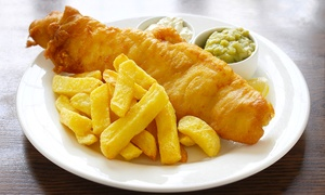 The Almighty Cod: Fish and Chips With Drink for Two or Four at The Almighty Cod (Up to 38% Off)