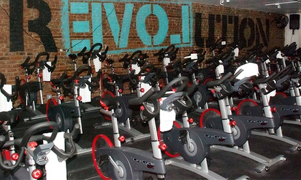 Three or Five Indoor Cycling or Yoga Classes, or One-Year Unlimited Membership at Studio 360 (Up to 56% Off)
