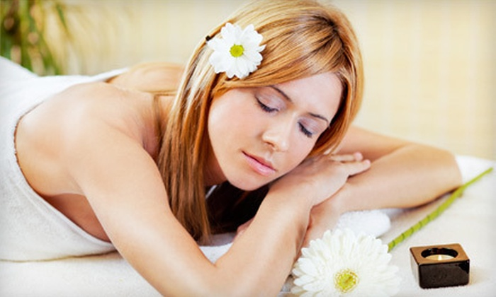 Carriage House Salon & Spa - West Bridgewater: Spa Package with a Facial, Spa Manicure, and Choice of Hair Mask or Massage at Carriage House Salon & Spa (51% Off)
