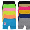 Girls' Colorful Above Knee Seamless Shorts (6-Pack)
