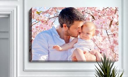 Custom Photo Canvas from PrinterPix (Up to 71% Off). Multiple Sizes Available.