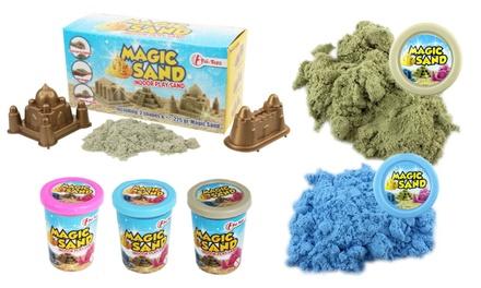sable modeler magic sand avec accessoires. Black Bedroom Furniture Sets. Home Design Ideas