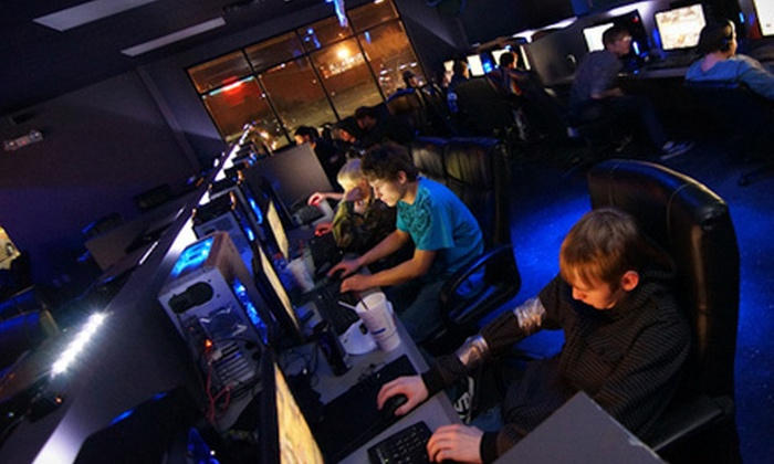 Galaxy Gaming - Sioux Falls: All-Day or Overnight Gaming Passes for Two or Four or Three All-Day Visits at Galaxy Gaming (Up to 61% Off)