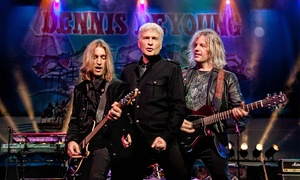 Dennis Deyoung-the Music Of Styx: Dennis DeYoung and the Music of STYX on Saturday, February 13, at 8 p.m.