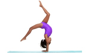 Star Rhythm Tumbling: One Month of Unlimited Tumbling Classes for One or Two Children at Star Rhythm Tumbling (Up to 69% Off)
