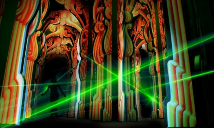 The Palace of Sweets - Wildwood Mirror Maze: Laser- and Mirror-Maze Entry for Two or Four or 10 Laser-Maze Entries at The Palace of Sweets (Up to 53% Off)