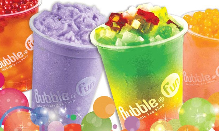 Bubble @ Fun - The Bubble Tea Shop - Johannesburg: Two, Four or Six Bubble Teas from R29 at Bubble@Fun Tea Shop (50% Off)
