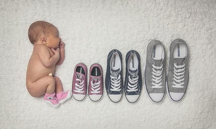 Maternity and newborn photoshoot