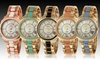 Geneva Platinum Women's Watches: Geneva Platinum Women's Dawn Watch. Multiple Colors Available. Free Returns.