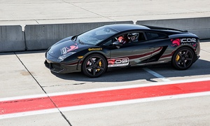 Two Laps Behind the Wheel of Exotic Cars at iCar Mirabel (Up to 56% Off). Three Options Available: