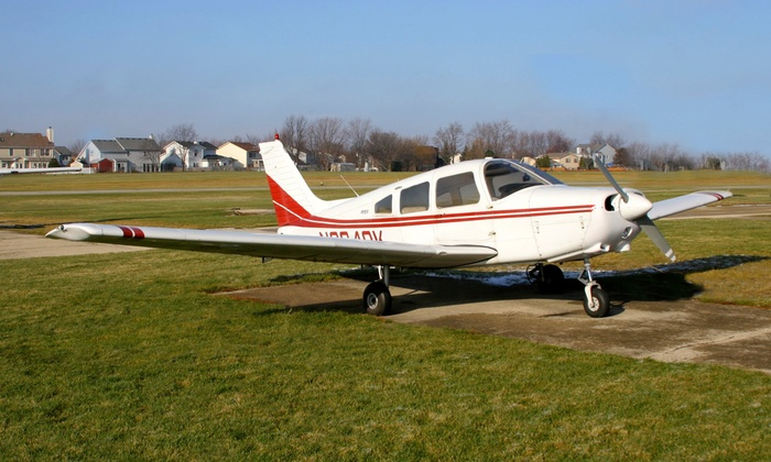 Modern Flight Instruction  - Lewis University Airport: $149 for a Private Intro Flight Lesson with 1 Hour of Air Time from Modern Flight Instruction ($235 Value)