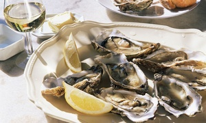 Circa 1924: A Dozen Oysters for Two with a Glass of Prosecco for Each or Bottle to Share at Circa 1924 (Up to 38% Off)