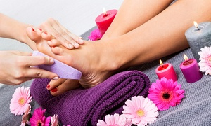 Just Beauty: Paraffin Manicure or Pedicure from £8 at Just Beauty (Up to 62% Off)