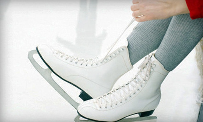 Lloyd Center Ice Rink - Lloyd District: $10 for Ice-Skating Outing with Skate Rental for Two at Lloyd Center Ice Rink (Up to $20 Value)