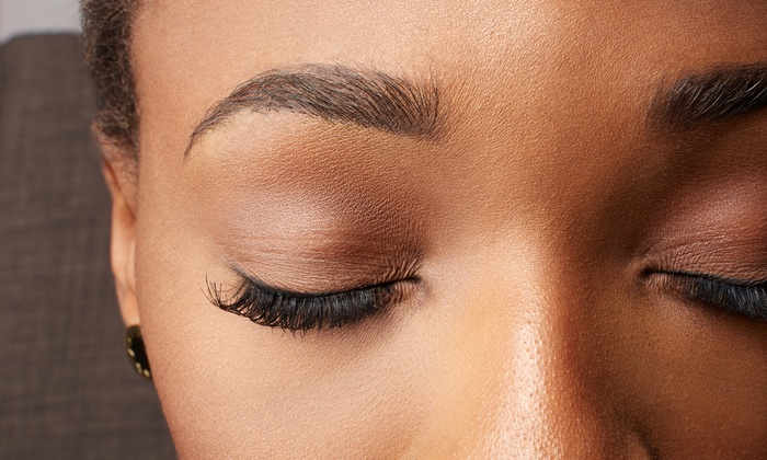 Eyebrow threading or waxing styles of india groupon for Waxing over tattoo
