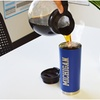 NCAA Double-Wall Vacuum Tumbler with Laser-Engraved Logo