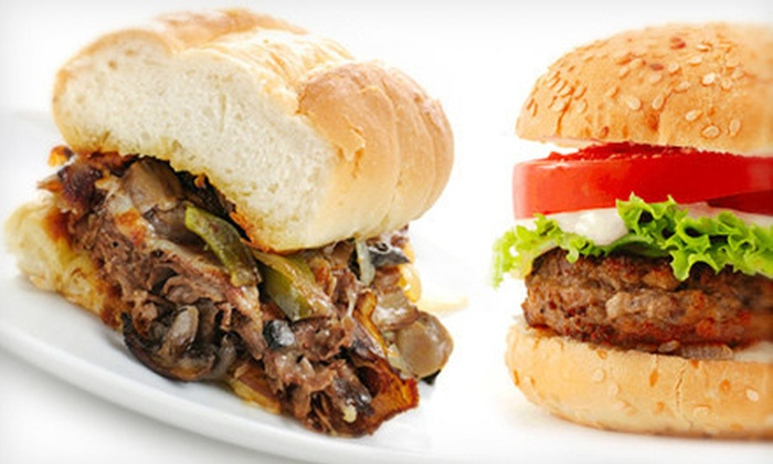Cheddar Jack's - Goldenrod: $6 for $12 Worth of Burgers, Subs, and Drinks at Cheddar Jack's