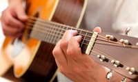 Choice of Guitar, Bass, Vocals, or Drums Lesson from £5 at Guitar Academy (Up to 68% Off)